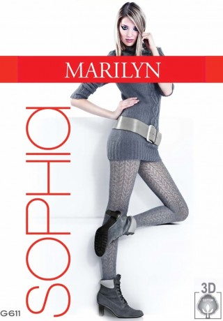Купить колготки теплые Sophia 611