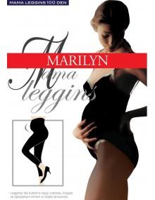 Смотреть Леггинсы Mama Legginsy 100 den черные
